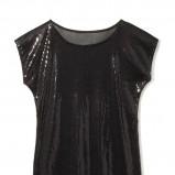 błyszcząca bluzeczka House w kolorze czarnym - kolekcja sylwestrowa 2012