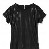 błyszcząca bluzeczka House w kolorze czarnym - moda sylwestrowa 2012