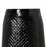 błyszcząca spódnica Topshop w kolorze czarnym - moda damska