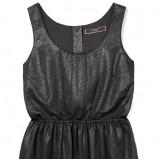 błyszcząca sukienka Reserved w kolorze czarnym - kreacje na studniówkę