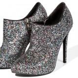 błyszczące botki Reserved - piękne buty dla kobiet