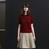 bordowa bluzeczka Jil Sander - zima 2013/14