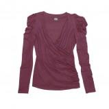 bordowa bluzka Bialcon - moda 2011/2012
