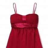 bordowa sukienka wieczorowa Reserved