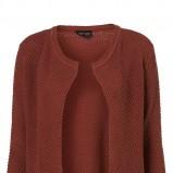 bordowy sweter Topshop - z kolekcji wiosna-lato 2011
