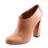 botki Prima Moda w kolorze brązowym - obuwie damskie