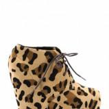 botki Stylowe buty w panterkę - jesień/zima 2011/2012