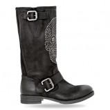 botki Wojas w kolorze czarnym - moda 2013/14