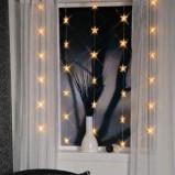 Bożonarodzeniowe dekoracyjne świecące gwiazdki   - gwiazdka 2013
