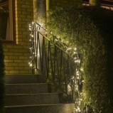 Bożonarodzeniowe świecące girlandy  - gwiazdka 2013