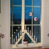 Bożonarodzeniowe  świecznik w kolorze białym - świateczne propozycje JULA