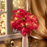 Bożonarodzeniowy wazon z kwiatami  -Wigilia 2013
