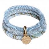 bransoletka Baji w kolorze błękitnym - modne dodatki