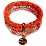 bransoletka Baji w kolorze czerwonym - modne dodatki