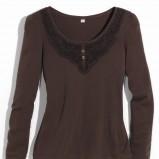 brązowa bluzka Orsay - jesień/zima 2011/2012