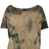 brązowa bluzka Topshop - jesień/zima