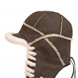 brązowa czapka Gena - jesień/zima 2011/2012