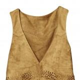 brązowa kamizelka H&M - kolekcja wiosenno/letnia