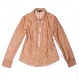 brązowa koszula Aryton z cekinami - wiosna/lato 2011