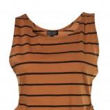 brązowa koszulka Topshop - kolekcja letnia