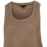 brązowa koszulka Topshop - letnia kolekcja