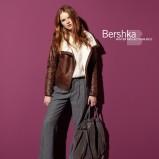 brązowa kurtka Bershka ze skóry - moda jesień/zima 2010