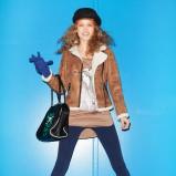 brązowa kurtka Cropp - sezon jesienno-zimowy