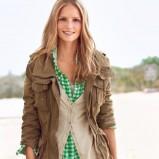 brązowa kurtka H&M - kolekcja wiosenno/letnia