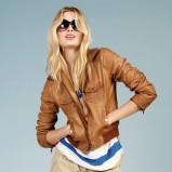 brązowa kurtka Reserved skórzana - kolekcja wiosenna