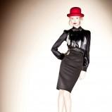 brązowa spódnica Patrizia Pepe - kolekcja jesienna