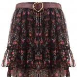 brązowa spódnica Tally Weijl - jesień/zima 2011/2012