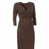 brązowa sukienka InWear - kolekcja jesienna