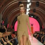 brązowa sukienka La Mania - moda 2011