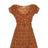 brązowa sukienka Pull and Bear - kolekcja wiosenno/letnia