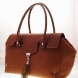 brązowa torebka - kolekcja wiosenno/letnia