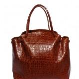 brązowa torebka Maja Łagoda - trendy na jesień-zimę