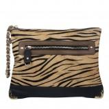 brązowa torebka New Look w zwierzęce wzory - kolekcja wiosenno/letnia
