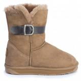 brązowe buty emu - trendy na jesień-zimę
