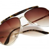 brązowe okulary przeciwsłoneczne House - sezon wiosenno-letni
