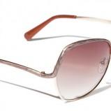 brązowe okulary przeciwsłoneczne Reserved - sezon wiosenno-letni