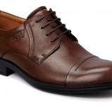 brązowe pantofle Ecco skórzane - jesień 2012