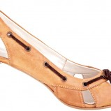 brązowe pantofle Wojas - wiosna/lato 2011