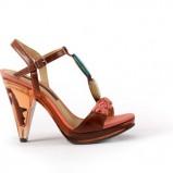 brązowe sandały Badura - moda 2011