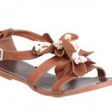 brązowe sandały CCC - lato 2011