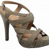 brązowe sandały Deichmann - wiosna/lato 2011