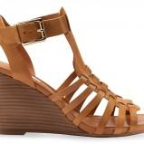 brązowe sandały Geox - wiosna/lato 2012