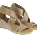 brązowe sandały Molton - wiosna-lato 2011