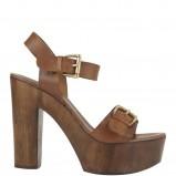 brązowe sandały New Look - trendy wiosna-lato