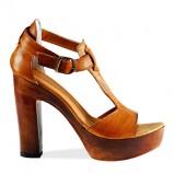 brązowe sandały Venezia - wiosna-lato 2011