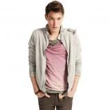 brązowe spodnie Pull and Bear - wiosna/lato 2011